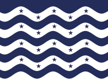 This one has navy stars